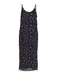 HOLZWEILER JOA Print Dress - BLACK