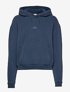 Hang On - NAVY WASHED