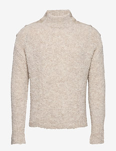 Termite Knit Sweater - basic strik - sand