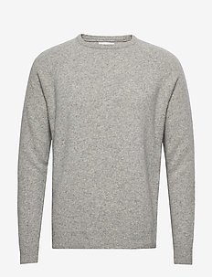 Scurfy Knit sweater - LIGHT GREY