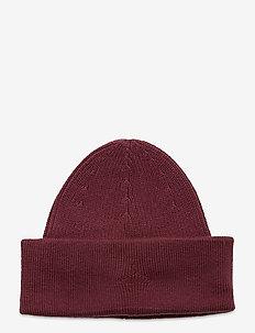 Margay Beanie - bonnets - burgundy