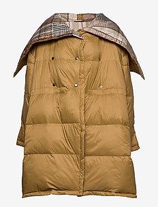 Dosy Jacket - wyściełane płaszcze - shandy check