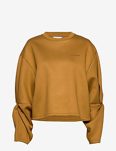 Twine  - crop tops - camel
