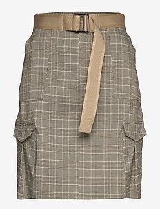 Stranda Skirt  - SAND CHECK