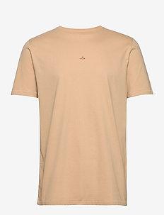 Hanger tee - basic t-shirts - sand