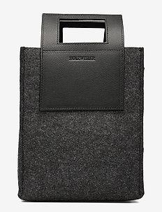 Carry Small Bag - handbags - charcoal