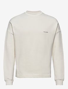 Flea crew sweat - basic sweatshirts - ecru