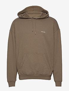 HZW hood - basic sweatshirts - taupe