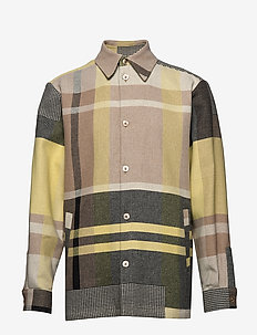 Elix shirtjacket - YELLOW CHECK