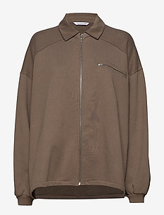 Kaffezipp Sweat - TAUPE