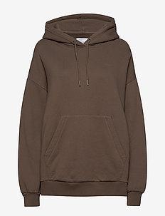 Holzweiler Hoodie Sweat - hoodies - taupe