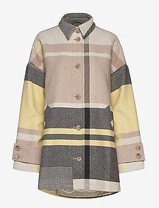 Baller Jacket - vestes legères - yellow check