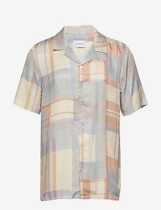 Bo shirt - LIGHT BLUE CHECK