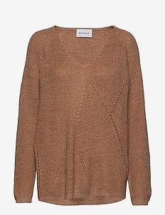 Dynastiet sweater - LIGHT ORANGE