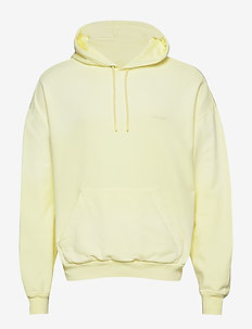HZW hood Yellow faded - basic sweatshirts - yellow faded