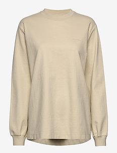 Luring Print - sweatshirts - ecru