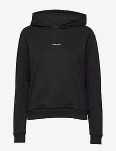 Identity Hoodie Woman 20-01 - hoodies - blk with wht logo