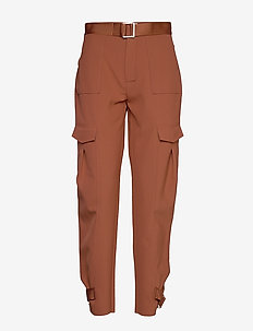 Skunk Trouser - straight leg trousers - terracotta
