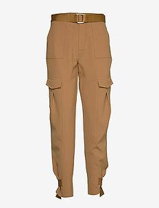 Skunk Trouser - spodnie proste - tobacco