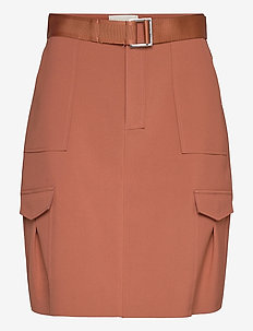 Stranda Skirt - jupes courtes - terracotta