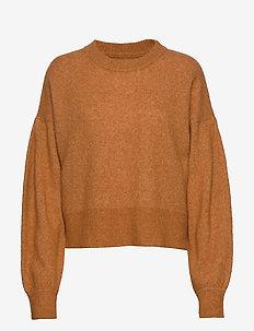 Ekeberg Knit - trøjer - ocher yellow