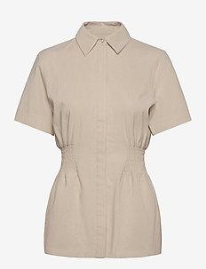 Svale Shirt - overhemden met korte mouwen - ecru