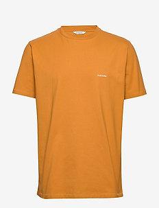 Live Tee - perus t-paidat - ocher yellow
