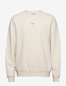M Oslo Sweat - basic sweatshirts - ecru