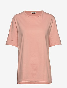 Band Tee - basic t-shirts - washed pink