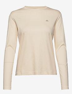 Skarn LS - basic t-shirts - ecru