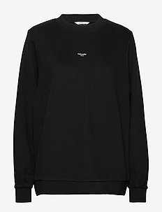 W Oslo Sweat - svetarit - black