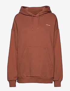 Holzweiler Hoodie - hoodies - terracotta