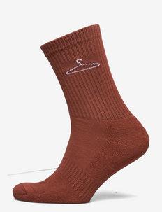 Hanger Sock - vanlige sokker - terracotta