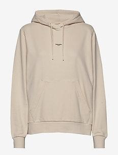 W Oslo Hoodie - hoodies - ecru