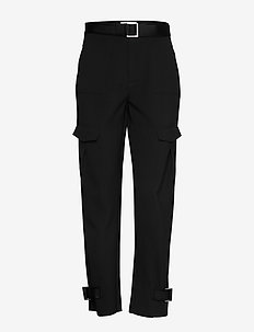 Skunk Trouser - straight leg trousers - black