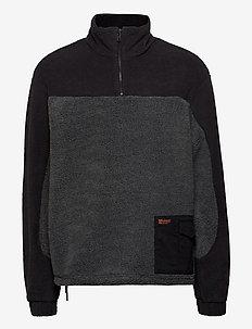 Sesame Half Zip - basic sweatshirts - dark grey