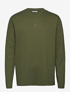 Hanger LS - basic t-shirts - green