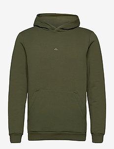 Hanger Hoodie - perus-college-paitoja - green