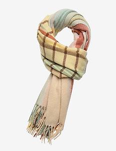 Dipper Check M 20-04 - scarves - barley