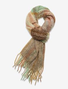 Fresia Check 20-04 - scarves - barley