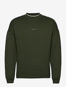 Flea Sweat - basic sweatshirts - dark green