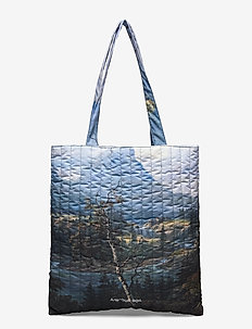 National Tote 20-04 - fashion shoppers - cottage artwork