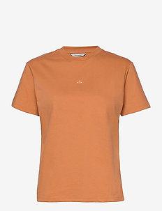 Suzana Tee 20-04 - t-shirts - orange