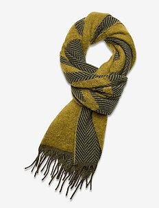 Bambino Check M 20-04 - scarves - holzweiler green