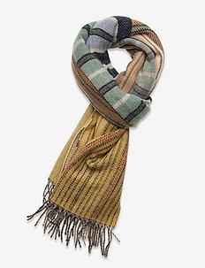 Griffin M 20-04 - scarves - pea