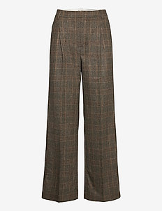 Bottomsup Check Trouser 20-04 - spodnie - brown check