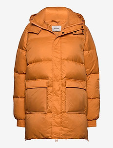 Sol Down Jacket 20-04 - dun- & vadderade jackor - orange