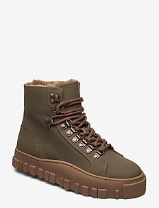 Sinsen Boot 20-04 - flate ankelstøvletter - dark green