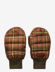 Bubble Mittens 20-04 - hansker - orange check