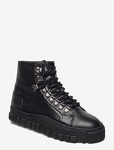 Sinsen Padded Boot 20-04 - flate ankelstøvletter - black